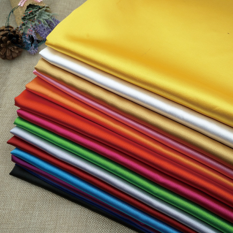 wholesale textile fabric satin fabric 100% <strong>polyester</strong> for pajama sleepwear