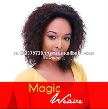 Magic Weave Sexy Curly Human Hair Wig