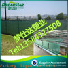 Printing Stadium windbreak Privacy Fence Dark green windbreak packet buckle shade net Fence