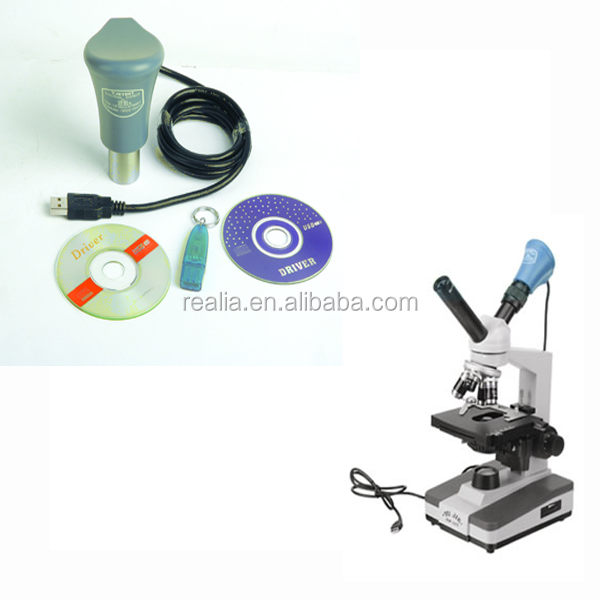 USB 2.0 color digital camera Microscope