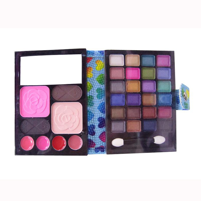 Cheap new cosmetic multi colored eyeshadow makeup mixing palette
