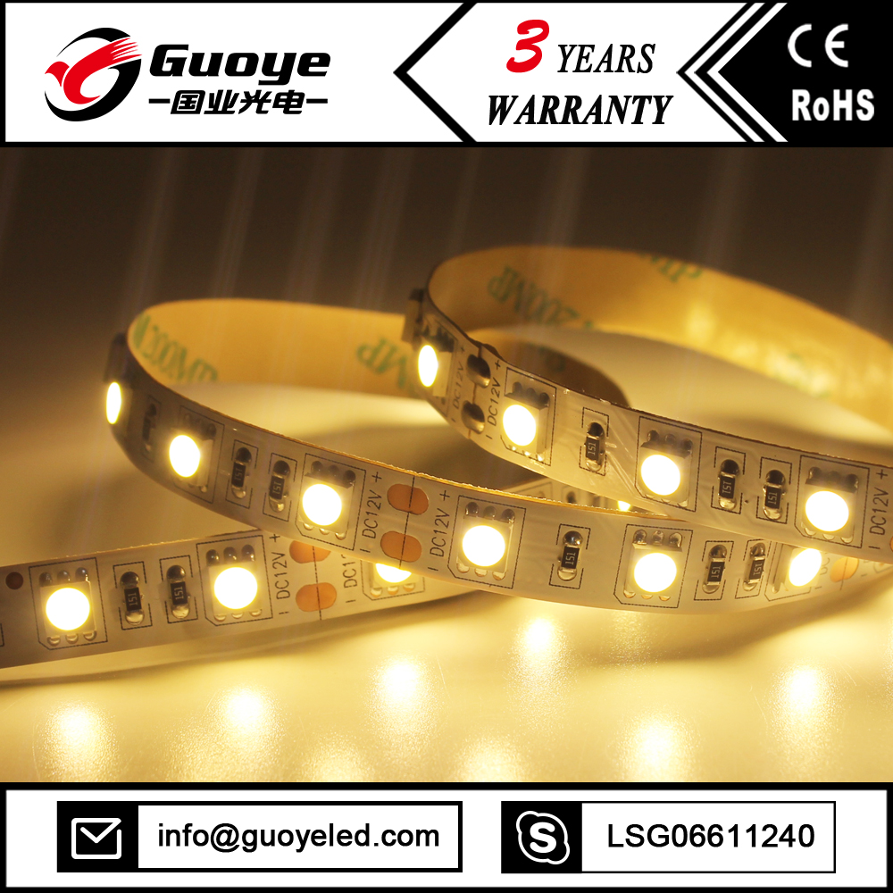 Popular offer 2400k warm white led strip lighting with 5m 300leds led strip led
