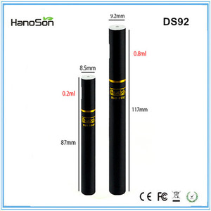 280mah disposable ecig for cbd oil 0.8ml cartridge disposable e cig for co2 oil Ocitytimes new model electronic cigarette DS92