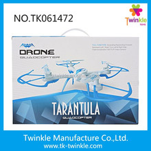 High quality remote control helicopter 4-axis tarantula rc drone with camera