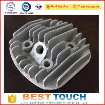 Cylinder Head High performance Racing 2-stroke 66/80cc Engine CNC cylinder head