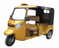 2016 Bajaj Type 150cc/175cc Water Cooled Engine Three Wheel Taxi Motorcycle / CNG Operated Tricycle Rickshaw