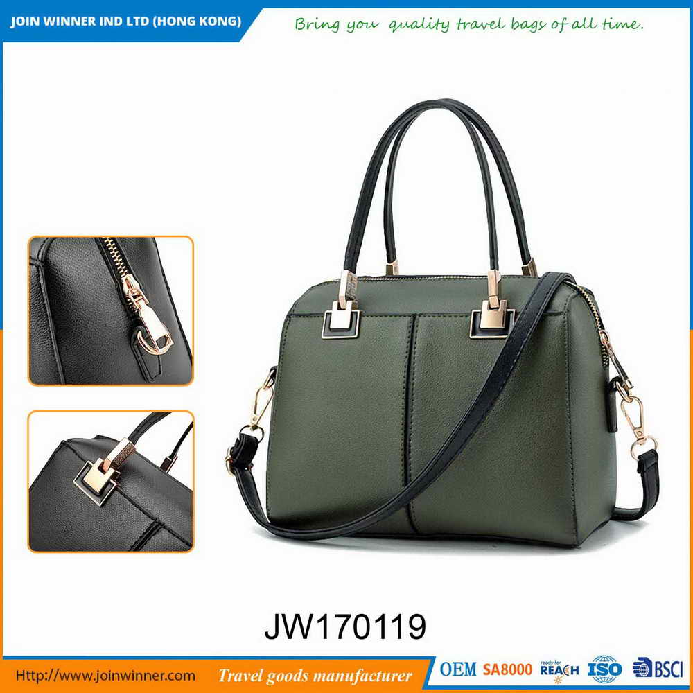 The New 2017 Womens Brown Leather Satchel Made In China Low Price