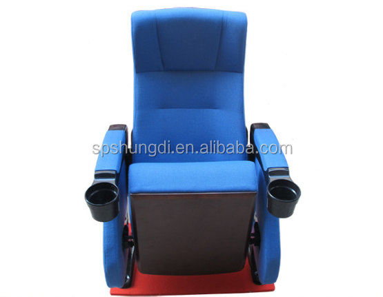 wooden cinema chair theater auditorium hall chair folding movie furniture