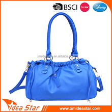 Manufacture Good quality fashion pu leather lady handbag
