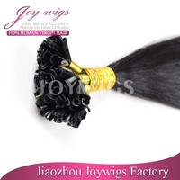 Fast delivery! 5A gradehuman hair,virgin Brazilian hair nail hair extension