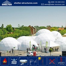 High quality Shenzhen outdoor design luxury house geodesic dome