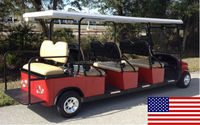 Cruise Car Brand 8P Electric All American Shuttle Cart (M8BTB)