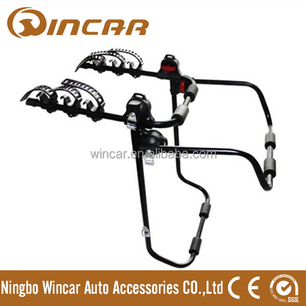 Steel Car bike rack rear mounted bicycle carrier for 3 bikes