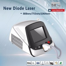 FOGOOL Portable laser diode combine machine 755/808/1064nm hair removal machine