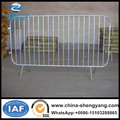Galvanized The Fixed Leg Crowd Control Barrier Temporary Barricades