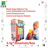 Privated lable effective tea diabetes control tea herbal tea to control blood suager