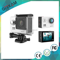 waterproof full hd 1080p sports action video camera with wifi remote controller
