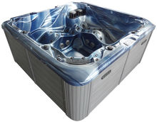 100 JETS USA mini hot tub with overflow with led light
