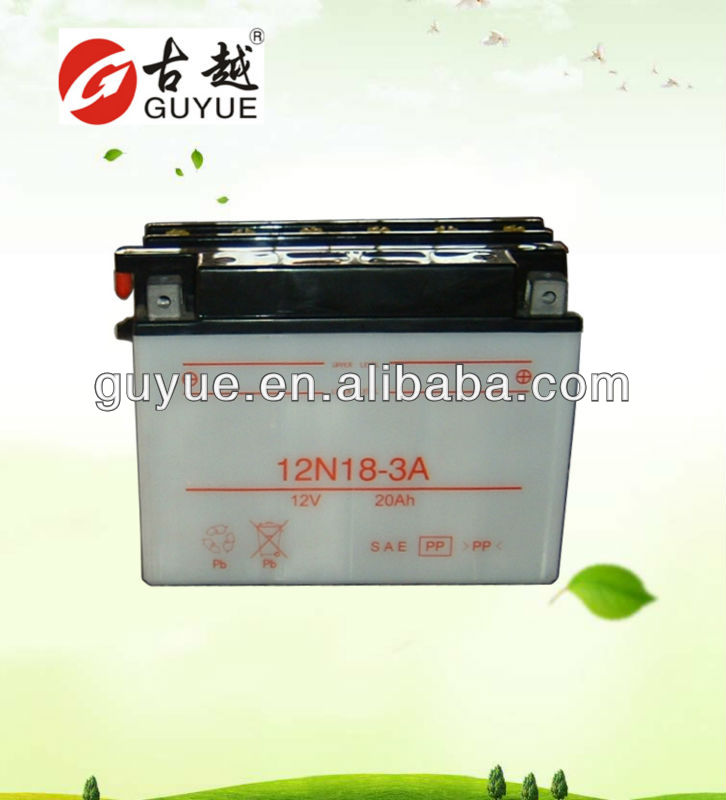 12v flood motorcycle battery with great quality