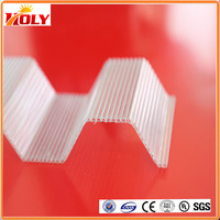 High Quality Factory Price corrugated plastic sheet / corrugated sheets roofing