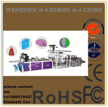 high strength professional lady bag gluing machine