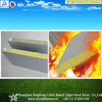 lightweight thermal glass wool roof acoustic sandwich panel