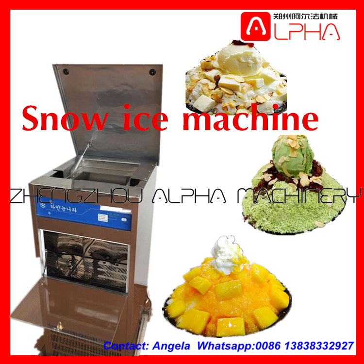 hot sale snow ice machine/commercial bar equipment/frozen drink ice cube machine