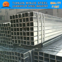 Q235B GALVANIZED STEEL SQUARE TUBE IRON FENCE