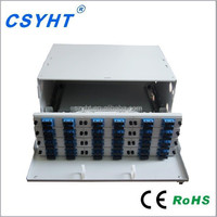 19 inch slidable corning fiber optic patch panel