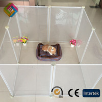 Plastic pet fence sturdy and durable enclosed pet fence dog fence to assemble and remove small pet litter