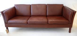danish leather sofa couch