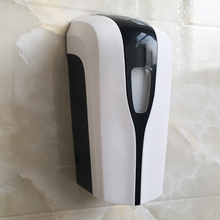 Hospital toilet automatic hand sanitizer with dispenser