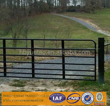heavy duty hot dipped galvanized corral panels /metal livestock field farm fence gate for cattle sheep or
