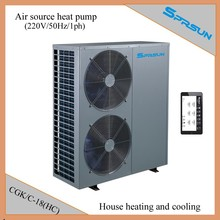 Heat pump air to water central heating and cooling system CGK/C-18(HC) 220V