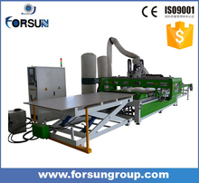 Discounted price nesting cnc router making machine auto feeding woodworking machine for door and cabniet making