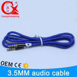china factory wholesale colored multi function audio cable rca