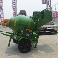 JZC250 Electric Portable Concrete Mixer,Mini movable concrete mixer machine
