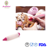 Silicone Cake Pen DIY Pastry Cookie Decorating Cream Syringe Pen