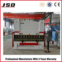 JSD Brand WE67K-100T*3200 automatic sheet metal bending machine, sheet metal press brake for sale