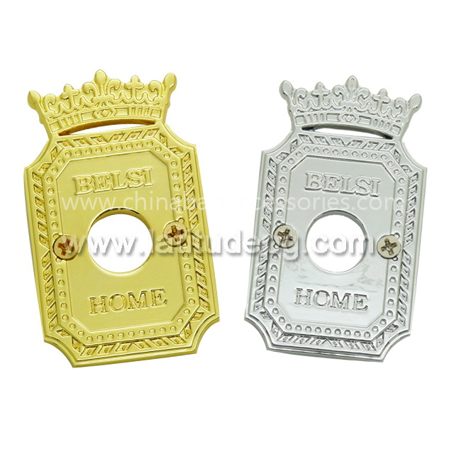 CR-AC2943-ML Hot selling metal name plat for promotions e /custom logo/brass
