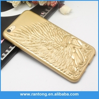 Hot selling OEM quality angel wings phone case for iphone 6 China wholesale