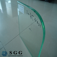 High quality toughened laminated glass bridge
