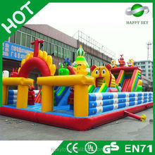 2015 Fashionable top quality inflatable fun city,inflatable amusement park,inflatable amusement park games