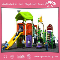Cheap Plastic Children Outdoor Play Equipment for Park Items AP OP10016