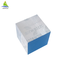 Engraving Brand Display Laser Etching Acrylic Logo Block