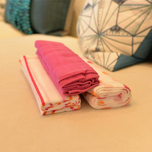 New Arrive Comfort Cotton Muslin Baby Swaddle Blanket