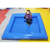 Factory supply custom design inflatable indoor family lounge water swimming pools