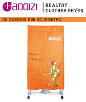 Bilayer UV light Square shape Folding electric Clothes Dryer