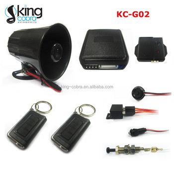 South America Hot Selling Car Alarm System