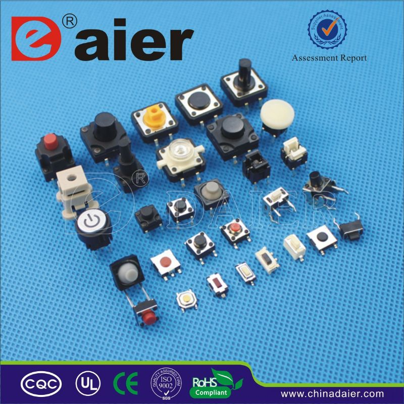 Daier double dome Reel packing SMT tact switch